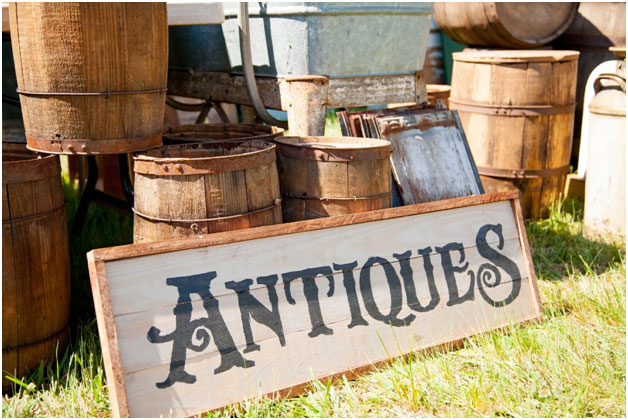 why antique items