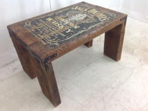Rustic Whiskey coffee table