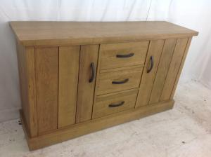 next range solid oak sideboard