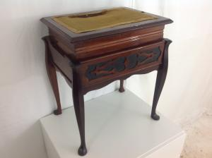 adjustable antique piano stool  dressing table stool