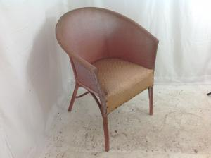 Pink vintage bedroom chair