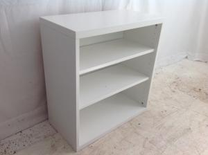 small white ikea bookcase