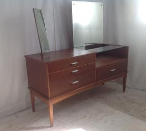 Quality vintage teakrosewood dressing table