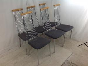 Set_of_6_Morden_metal_chairs