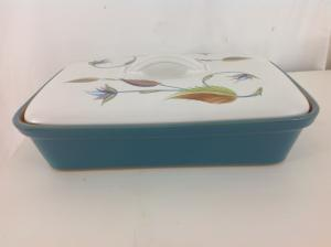 1950s__60s_Denby_stoneware_lid_and_dish_spring_pattern