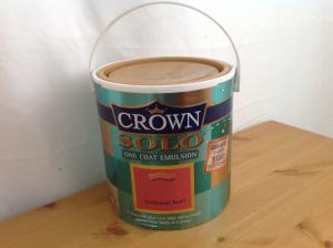 Second hand unopened Crown paint 25L
