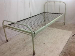 Old metal 3ft single bed frame