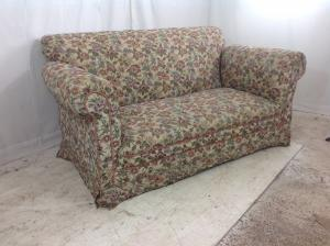 Edwardian drop arm sofa  Chaisse