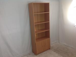 Teak_effect_bookcase